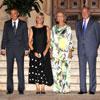 Los Reyes ofrecen una cena al Presidente del Gobierno y a su esposa en el Palacio de Marivent