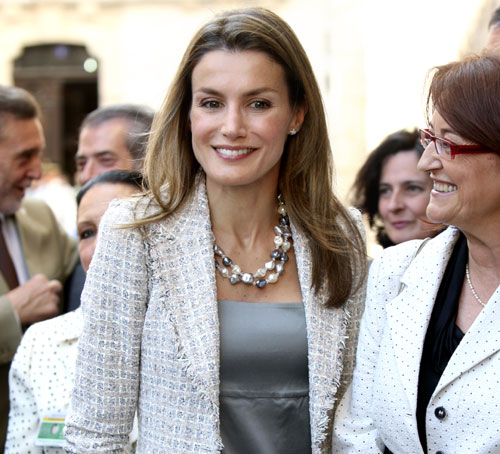 La princesa Letizia reclama en Burgos el esfuerzo de todos los españoles para integrar a las personas con autismo