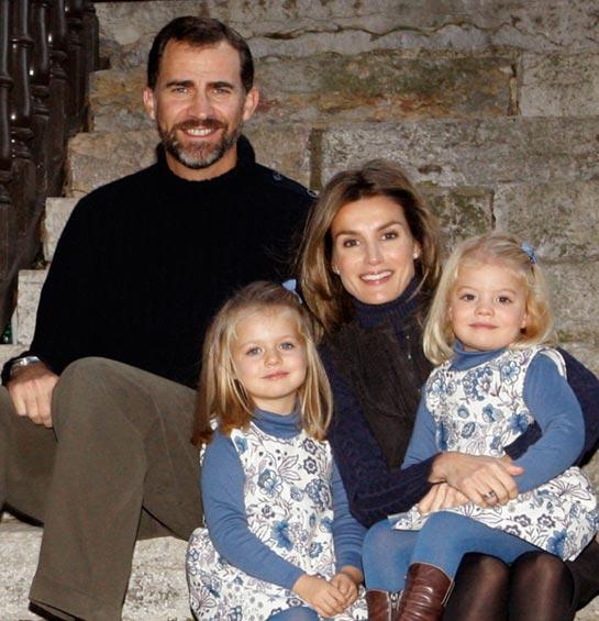 Las felicitaciones navideñas de la Familia Real española