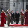 Los Reyes, acompañados por los Príncipes de Asturias, presiden la tradicional celebración de la Pascua Militar en el Palacio Real