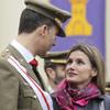 Don Felipe celebra el 25º aniversario de su Jura de Bandera ante la mirada enamorada de la Princesa de Asturias