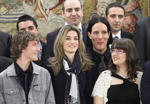Doña Letizia: Una princesa cercana a los jóvenes