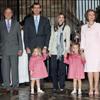 Los Reyes y los Príncipes de Asturias asisten a la tradicional Misa de Pascua