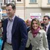 Los Príncipes de Asturias acuden a visitar al Rey: 'Se está recuperando a buen ritmo porque es muy buen paciente'