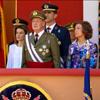 Don Juan Carlos reaparece en público por primera vez, tras ser operado, para presidir el Día de las Fuerzas Armadas en Badajoz