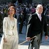 Don Juan Carlos y doña Sofía presiden la tradicional Ofrenda Nacional al Apóstol Santiago en la Catedral de Compostela