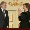 La reina Sofía, testigo de las lágrimas de Plácido Domingo durante el emotivo homenaje por su 70 cumpleaños