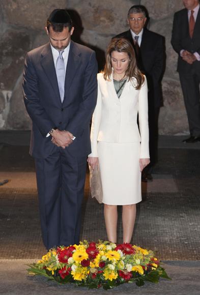 Los Príncipes de Asturias comienzan su viaje oficial por Israel y los Territorios Palestinos
