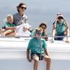 La reina Sofía y sus nietos, los mejores animadores de don Felipe y doña Cristina en el primer día de regatas