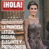 En ¡HOLA!: La princesa Letizia, segura, elegante y protagonista