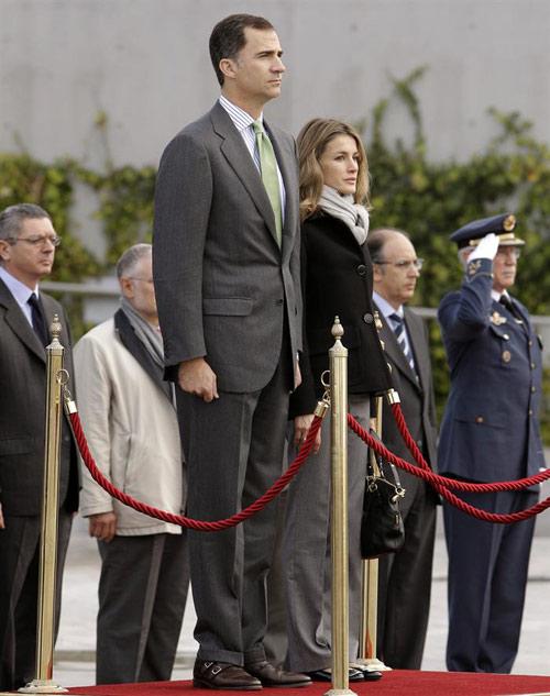 Un terremoto sorprende a los Príncipes de Asturias en su viaje oficial a Chile