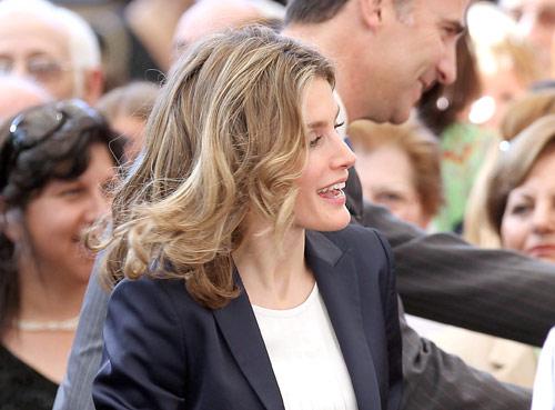 Los Príncipes de Asturias se llevan a casa un pedacito de Chile