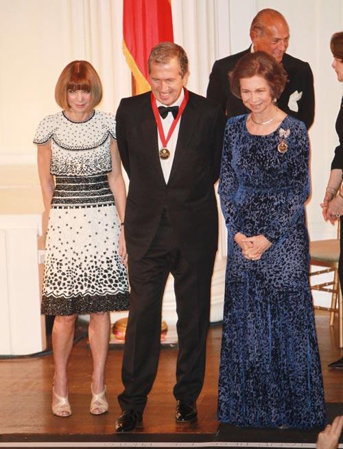 La reina Sofía, anfitriona de los premios del Instituto Reina Sofía de Nueva York