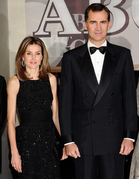 Los príncipes de Asturias entregan los premios ABC