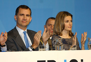 Felipe de Borbón subraya la transparencia de la Fundación Príncipe de Girona