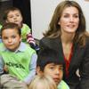 Doña Letizia, la princesa de los libros... y los niños