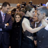 Los príncipes de Asturias fascinados por el tango en el acto inaugural de Fitur