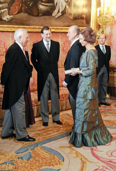 Primer acto oficial de Elvira Fernández como esposa del presidente del Gobierno