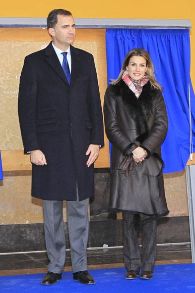 Los príncipes de Asturias se dejan cautivar por la catedral de Tarazona