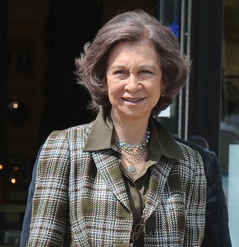 La reina Sofía está en Grecia y no está previsto que regrese hasta el lunes