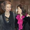 Doña Sofía y Silvia de Suecia, cena de reinas en el palacio de la Zarzuela