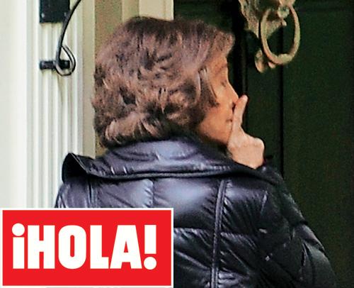 En ¡HOLA!: Doña Sofía visita por sorpresa a sus nietos en Washington