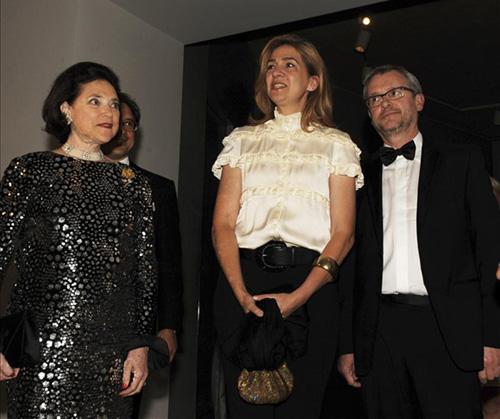 La infanta Cristina retoma su vida social con una visita a la exposición de Joan Miró en Washington