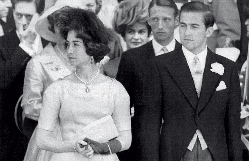 Matrimonio Romanov : Bodas de oro los reyes una vida juntos servicio a