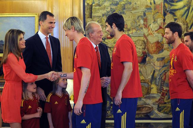 Recepción en Zarzuela a la Selección española Zarzuela-6--a