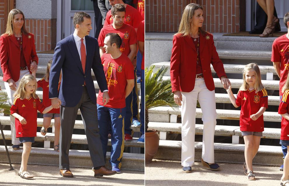 ¿Cuánto mide la Infanta Elena de Borbón? - Altura C-infantas-leonor-sofia1--a