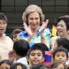 Doña Sofía finaliza su viaje de cooperación a Filipinas
