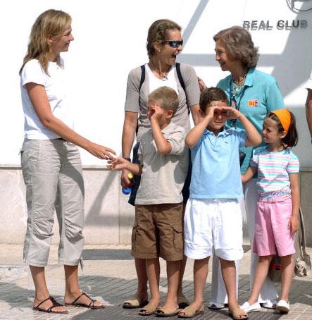 La infanta cristina y sus hijos pasar n finalmente unos - Cambio de casa para vacaciones ...