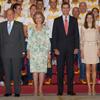 Los Reyes y los Príncipes de Asturias despiden al equipo olímpico