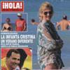 Esta semana en ¡HOLA!: La infanta Cristina, un verano diferente
