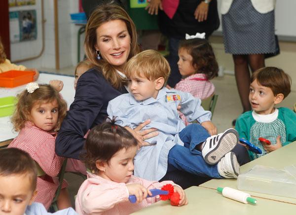 Felipe y Letizia Principes-curso-6-a
