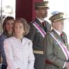 La Familia Real honra a los héroes de Annual en una histórica y solemne ceremonia castrense