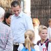 El Duque de Palma acude a recoger a sus hijos al cole el día de su aniversario de boda
