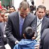 Calurosa despedida a los Príncipes de Asturias en Ecuador