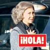 En ¡HOLA!: Las compras navideñas de la reina Sofía en Londres