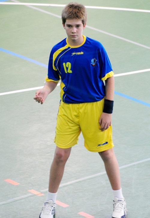 Iñaki Urdangarin, seguidor de su hijo mayor en el balonmano