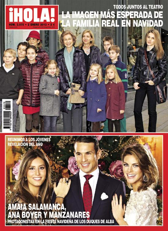 Esta semana en ¡HOLA!: La imagen más esperada de la Familia Real en Navidad