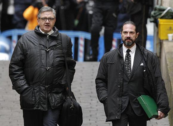 Carlos García Revenga, secretario de las Infantas, declara ante el juez