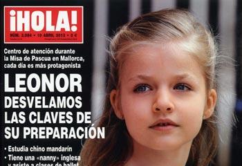 En ¡HOLA!, desvelamos las claves de la preparación de la infanta Leonor