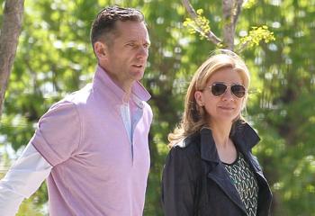 La infanta Cristina e Iñaki Urdangarin acuden juntos a ver jugar a sus hijos al balonmano