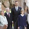 Los Príncipes de Asturias entregan el Premio Cervantes a Caballero Bonald, 'un maestro para maestros'