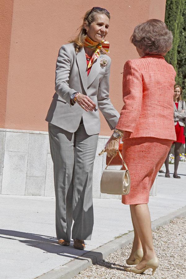La reina Sofía y la infanta Elena unen fuerzas