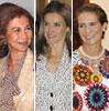 El compromiso de las damas de la Familia Real española