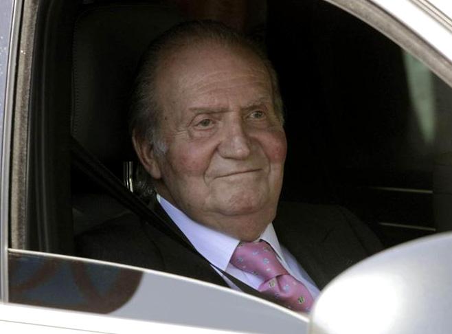 Concluye con éxito la intervención a don Juan Carlos