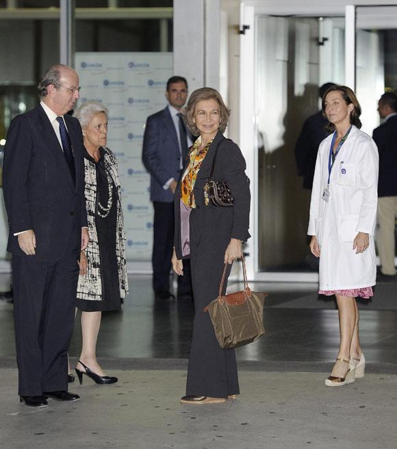 Don Felipe, tras la operación del Rey: 'Estamos muy contentos. Ha ido como la seda'