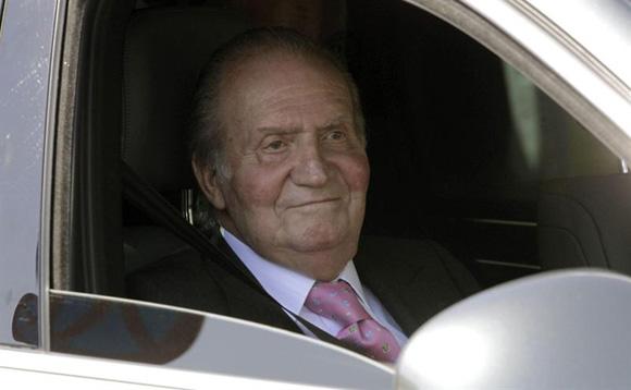 El Rey recibe las visitas de la Reina y de los Príncipes de Asturias